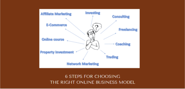 Choosing The Right Online Business Model