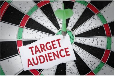 Define the target audience for your online business