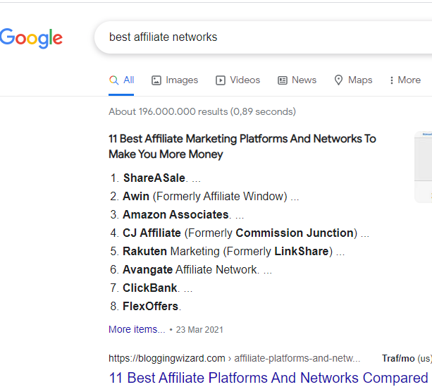Best affiliate networks for staring an Affiliate Marketing business