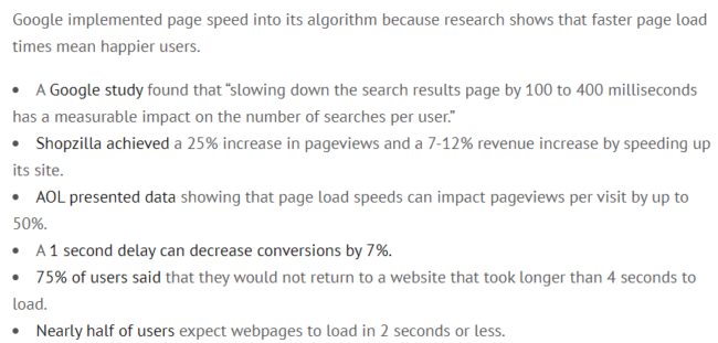 Paid vs Organic traffic - page load impact on user experience